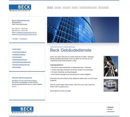Beck Gebäudereinigung