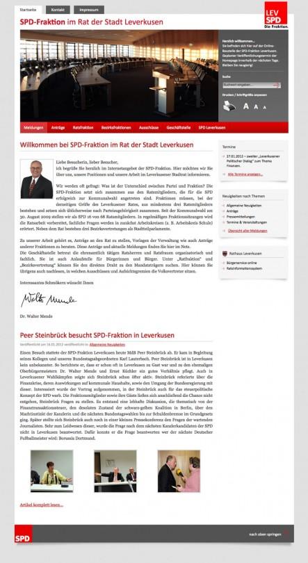 SPD-Fraktion im Rat der Stadt Leverkusen