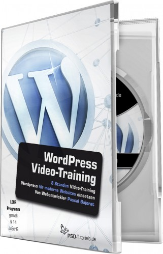 WordPress-Video-Training von Pascal Bajorat