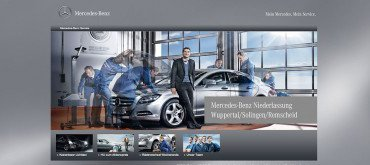 Mercedes Benz Wuppertal – Landing Pages