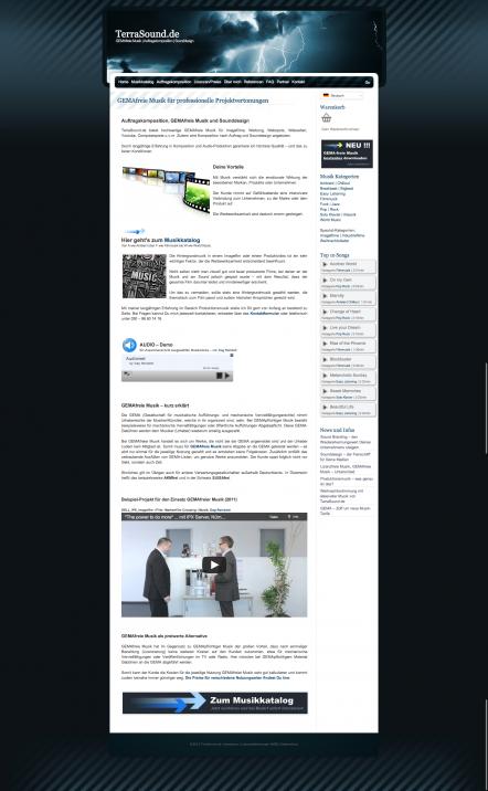 TerraSound.de - Pagespeed / Performance Optimierung