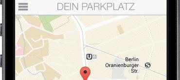 Finde meinen Parkplatz - iOS App