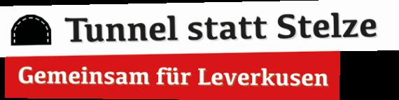 Tunnel statt Stelze - Logo