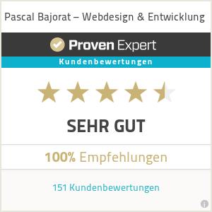 ProvenExpert - Bewertung: Sehr gut