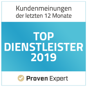 ProvenExpert - Top-Dienstleister
