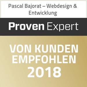Proven Expert - von Kunden empfohlen