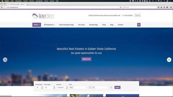 WordPress Kurs - Webseite mit Leedeo erstellen