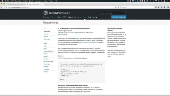 WordPress Kurs - Vorbereitung & Installation