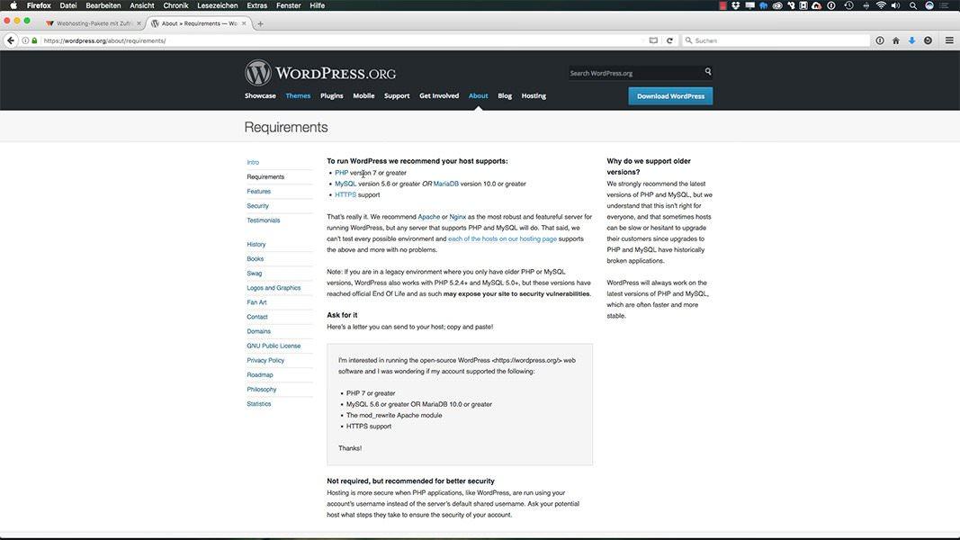 WordPress Kurs - Vorbereitung & Installation