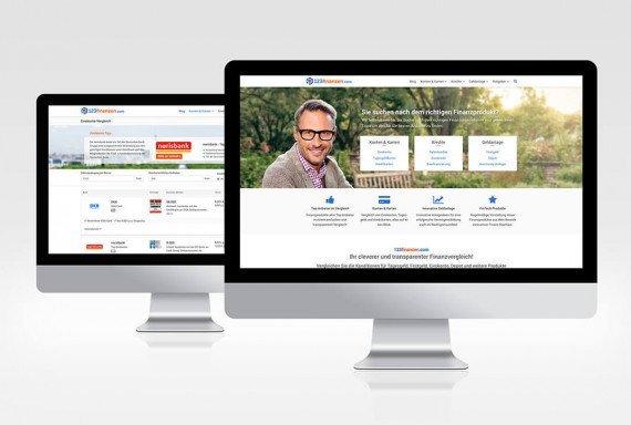 123finanzen – Startseite und Vergleichsportal