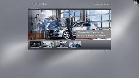 Mercedes Benz Wuppertal – Landingpages
