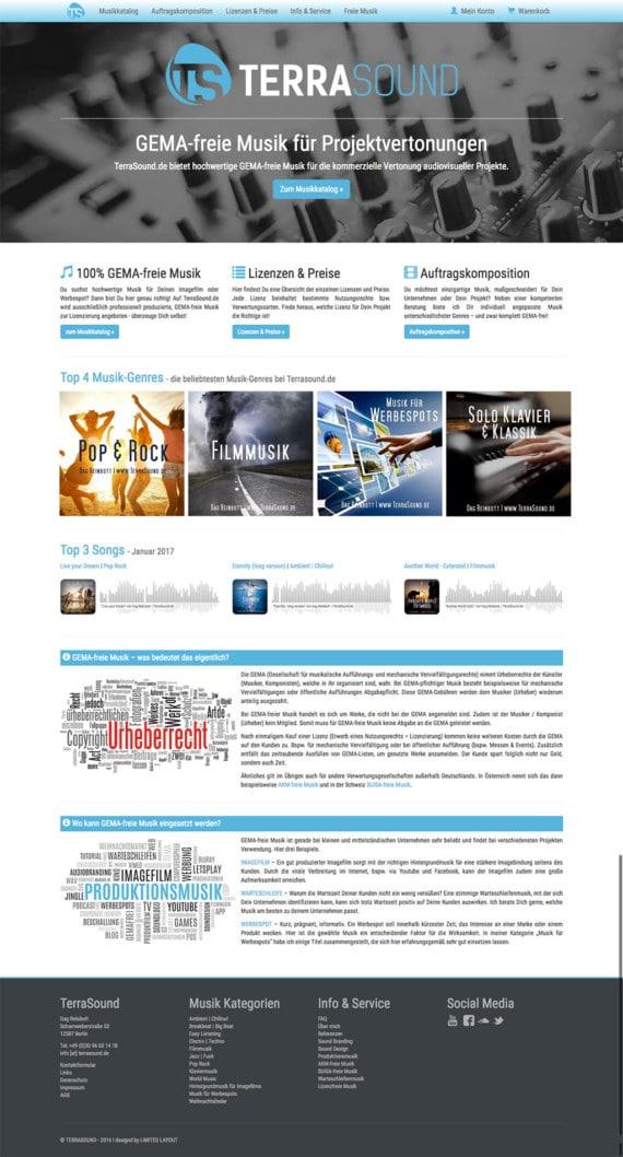 Relaunch Terrasound.de